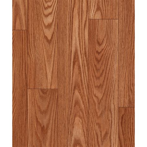 shop allen roth 4 96 in w x 4 23 ft l russet oak