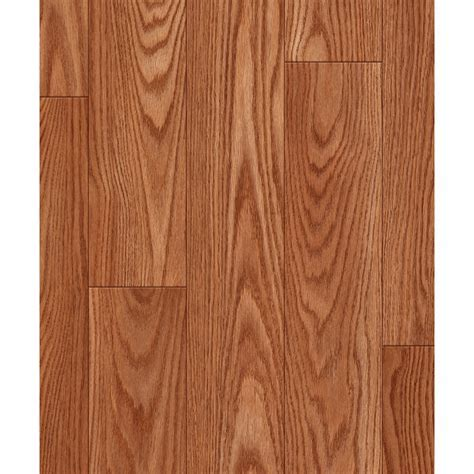 Shop allen   roth Russet Oak Wood Planks Laminate Flooring