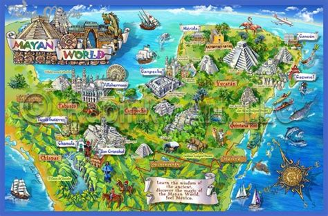 Mexico City Map Tourist Attractions   ToursMaps.com