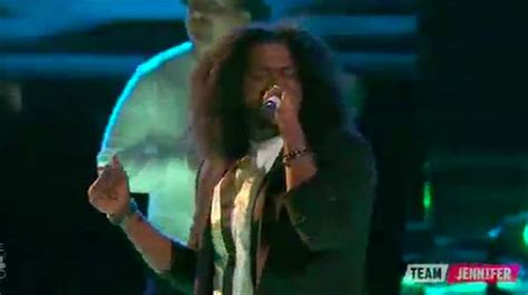 Davon Top davon fleming sings on top on the voice 2017 live