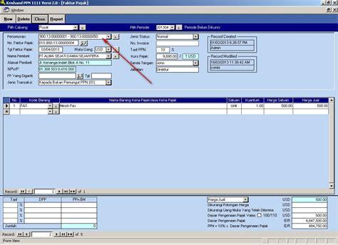 contoh membuat faktur pajak pengganti software payroll pajak pph 21 faktur pajak ppn