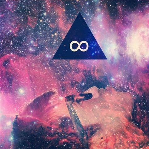 triangle art galaxy awesome trill dope pinterest