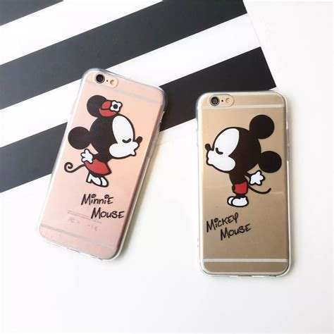Silikon Minnie Best Quality Iphone 7 Soft Cover Casing ᐃ mickey mouse minnie ộ ộ soft soft tpu clear 웃 유 phone phone cover coque