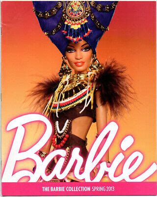 barbie collector catalog collection book ad magazine tribal beauty spring  ebay