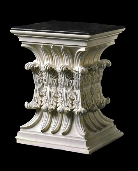 Architectural Pedestals object moved