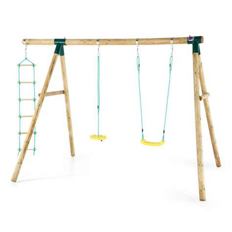 plum monkey swing plum macaque wooden swing set plum macaque all round fun