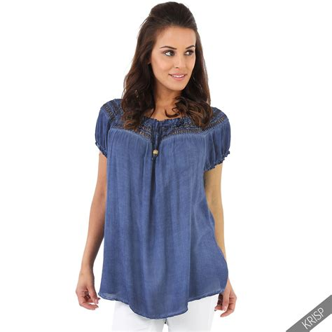 Tunic Boho Blouse Zeleka womens boho lightweight shoulder top blouse summer tunic shirt ebay