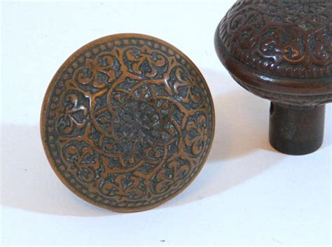 Architectural Door Knobs by Ornate Brass Door Knobs Antique Architectural By Tagsalefinds
