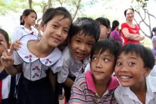 Vietnamese School Children Children