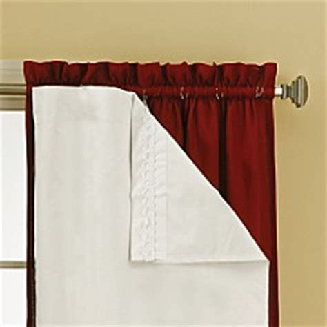 window curtain liner sound asleep blackout window curtain liner pair