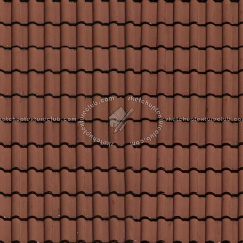 tile roofs clay roof tile texture seamless 03464