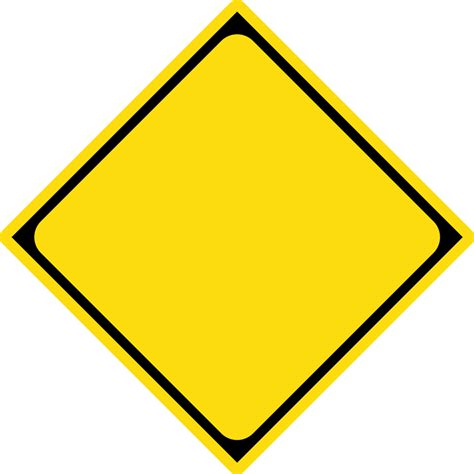 File Japanese Road Warning Sign Template Svg Wikimedia Commons Caution Sign Template