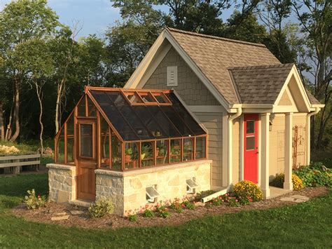 House Plans With Attached Garage tudor greenhouse pictures sturdi built greenhouses