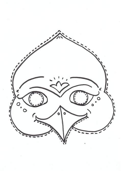 printable bird mask pin printable bird mask template on pinterest