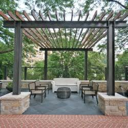 Steel Pergola Designs by Steel Beam And Wood Structure Shelter Me Pinterest