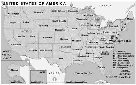 black and white map of the united states usa counties map black and white counties map of usa