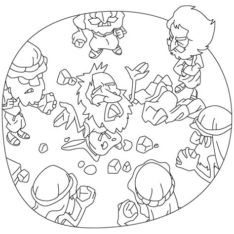 coloring pages bible stephen acts 6 8 7 60 stephen s address the stoning of stephen