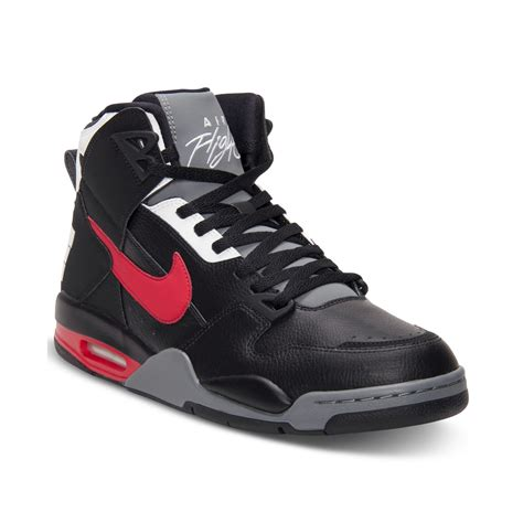 nike air flight basketball shoes nike air flight condor high basketball sneakers in black