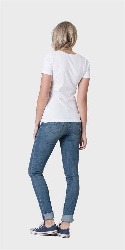 womens organic cotton scoop neck t shirt relaxed fit