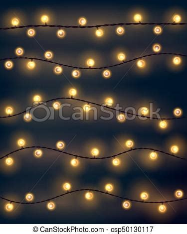 garland style lights set of yellow garland style lights on the