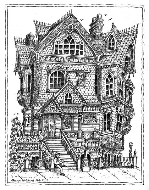 victorian house coloring pages free victorian house adult colouring adult colouring