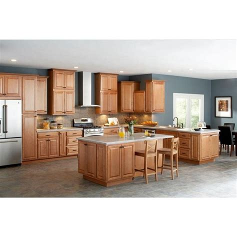 Light Oak Kitchen Kitchen L Shape Menard Kitchen Design Ideas With Light Oak Kitchen Cabinet Including