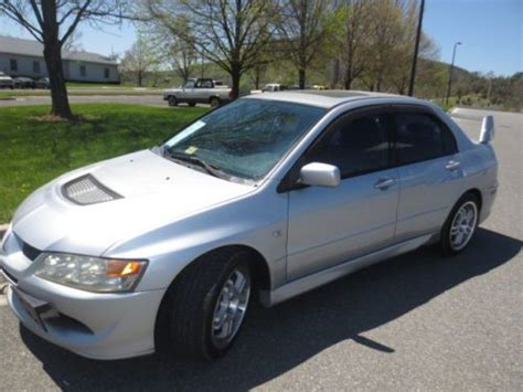mitsubishi sedan 2004 purchase used 2004 mitsubishi lancer evolution sedan 4
