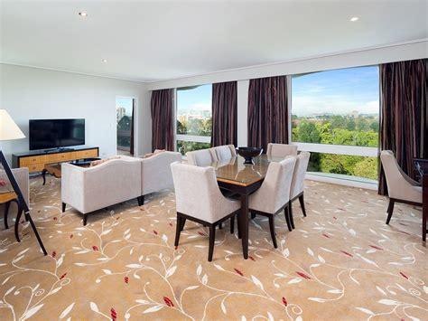 Media Room Lounge Suites by Accommodation Near Brisbane Botanic Gardens Royal On The