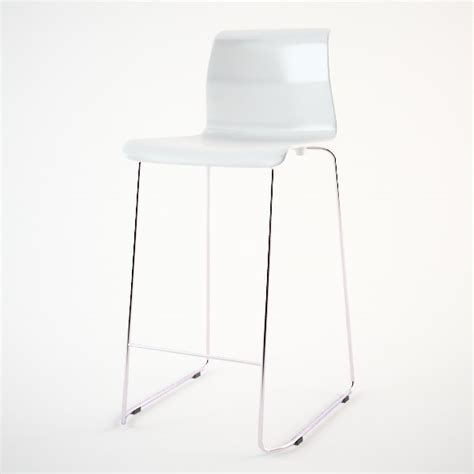 Ikea Glenn Bar Stool White by Ikea Glenn Bar Stool Dwg