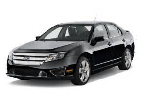 2012 ford fusion 4 door sedan sport fwd angular front