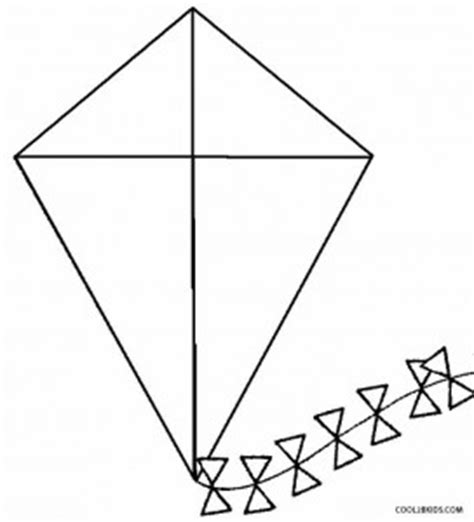 kite coloring pages for kindergarten printable kite coloring pages for kids cool2bkids