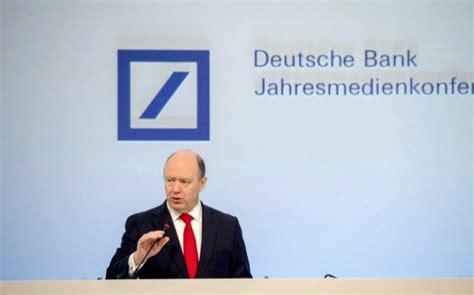 deutsche bank kurse märkte deutsche bank gana 571 millones de euros hasta marzo un