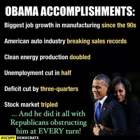 Obama Accomplishments Meme obama accomplishments