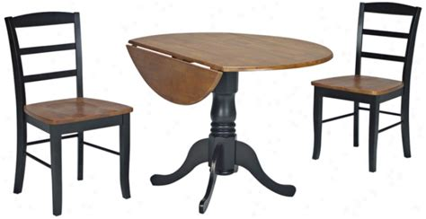 dining table black brown dining table set
