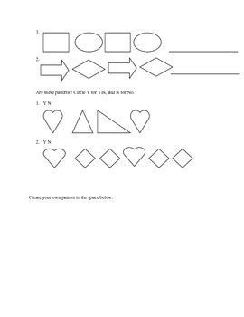 pattern unit definition math patterns math unit for kindergarden by it s elementary my