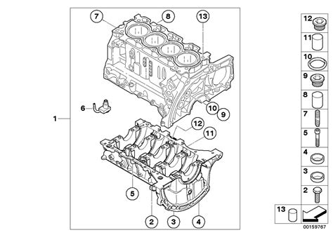 engine block diagram mini r55 clubman cooper d ece engine engine block estore
