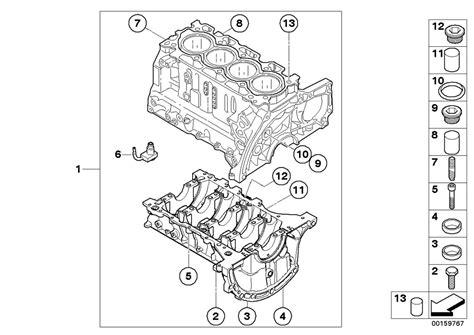 Mini R55 Clubman Cooper D Ece Engine Engine Block Estore
