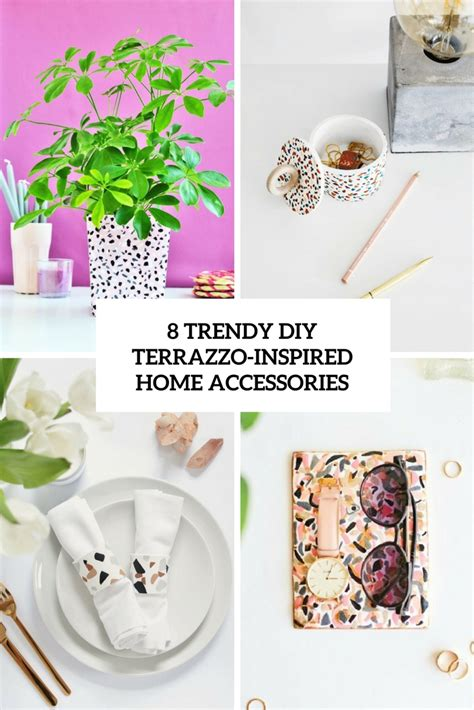 8 Fruity Inspired Accessories by 8 Trendy Diy Terrazzo Inspired Home Accessories Shelterness