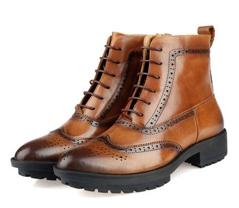 mens designer boots 2015 winter luxury designer mens leather boots toe