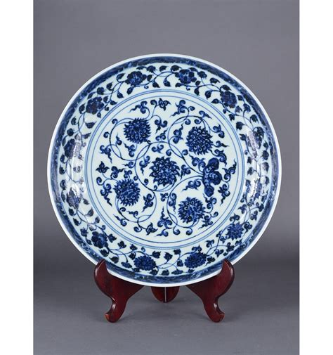 blue and white china l chinese blue white porcelain charger ming xuande
