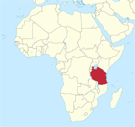tanzania on the map tales from tanzania a geography