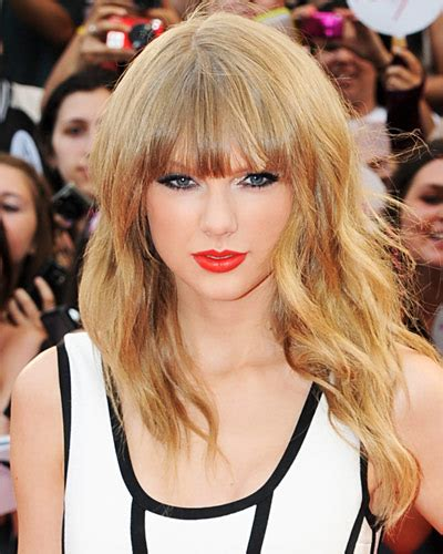 bangs and age taylor swift s blunt bangs great hairstyles at every age