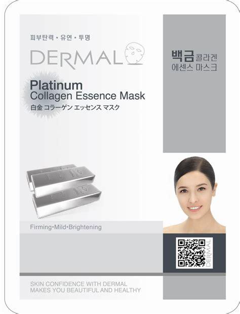 Collagen Platinum dermal platinum collagen essence mask dermal korea co ltd
