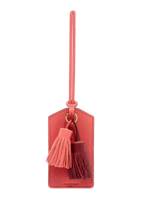 Fossil Luggage Tag 2 fossil luggage leather tassel tag nordstrom rack