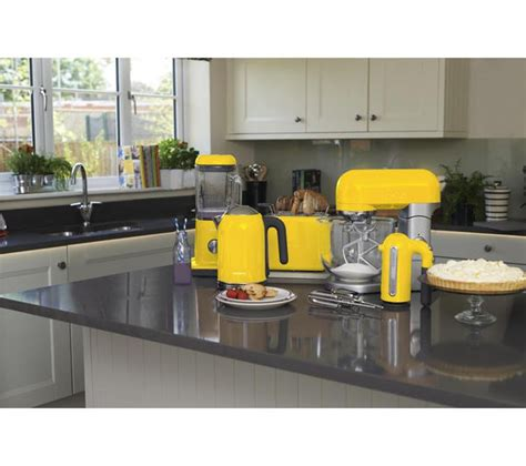 yellow kitchen appliances buy kenwood kmix ttm020yw 2 slice toaster yellow free