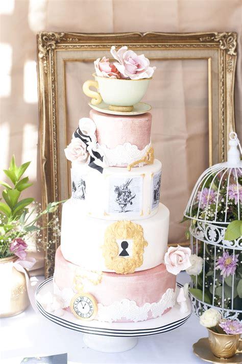 alice  wonderland tea party cakecentralcom