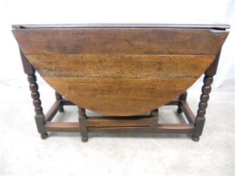 Antique Gateleg Dining Table Antique Jacobean Oak Gateleg Dining Table 91373 Sellingantiques Co Uk