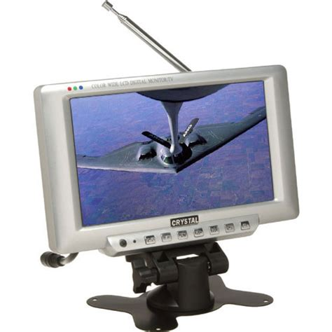 Tv Tuner For Lcd Monitor tv one tv 207 7 quot lcd monitor with tv tuner 16 9 tv207 b h
