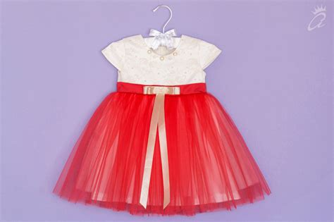 red mood red mood christening dress atelier bebe