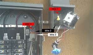 issue with a definite purpose contactor and photo cell electrical diy chatroom home